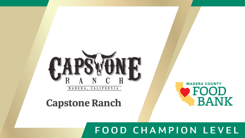 MCFB Food Champions Sponsorship Food Champion